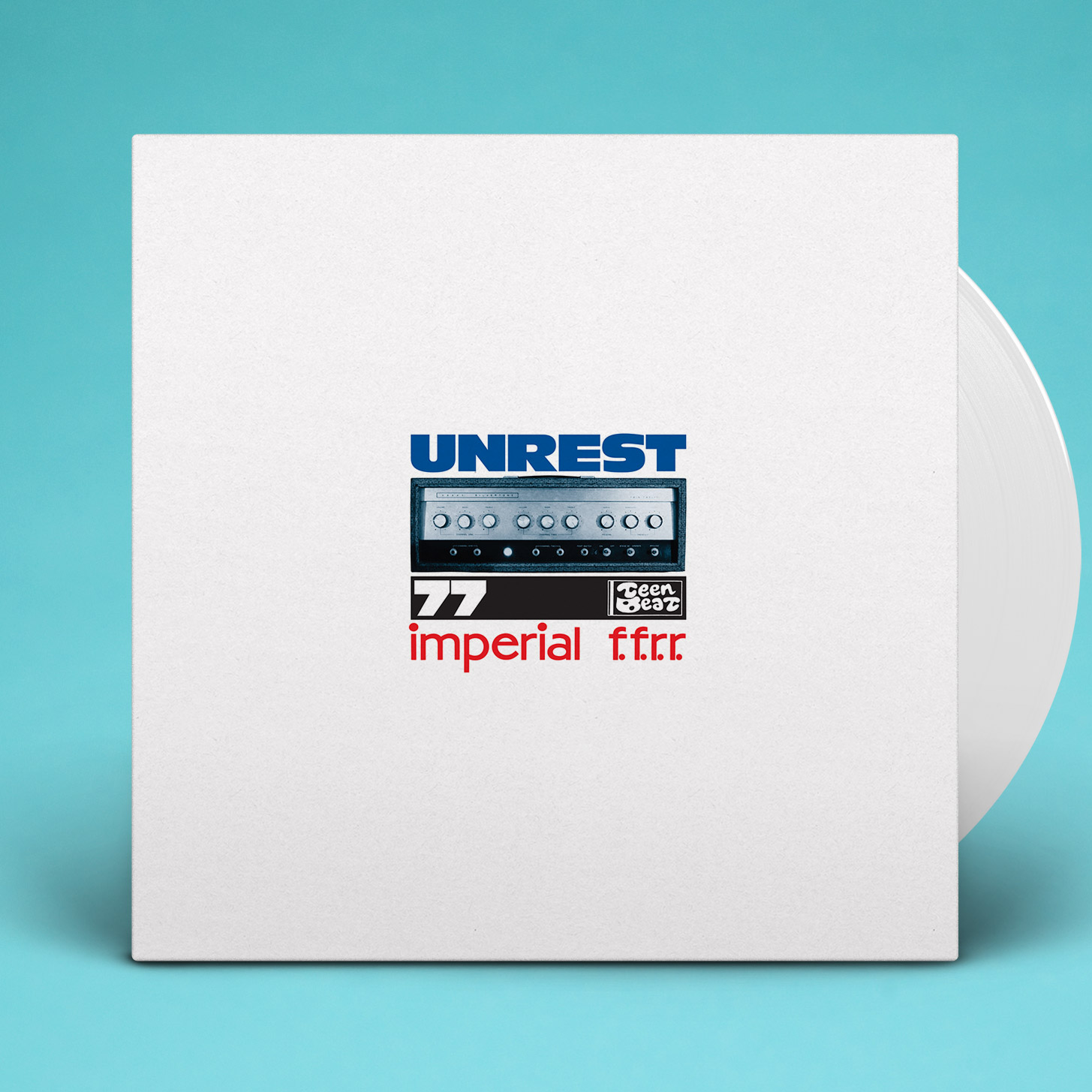 record album, An Imperial Full-Frequency Range Recording by Unrest