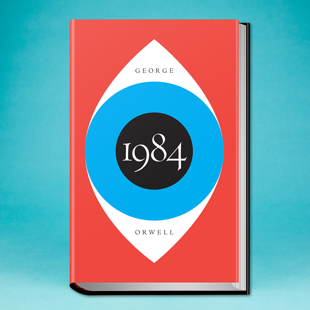 book, 1984 by George Orwell