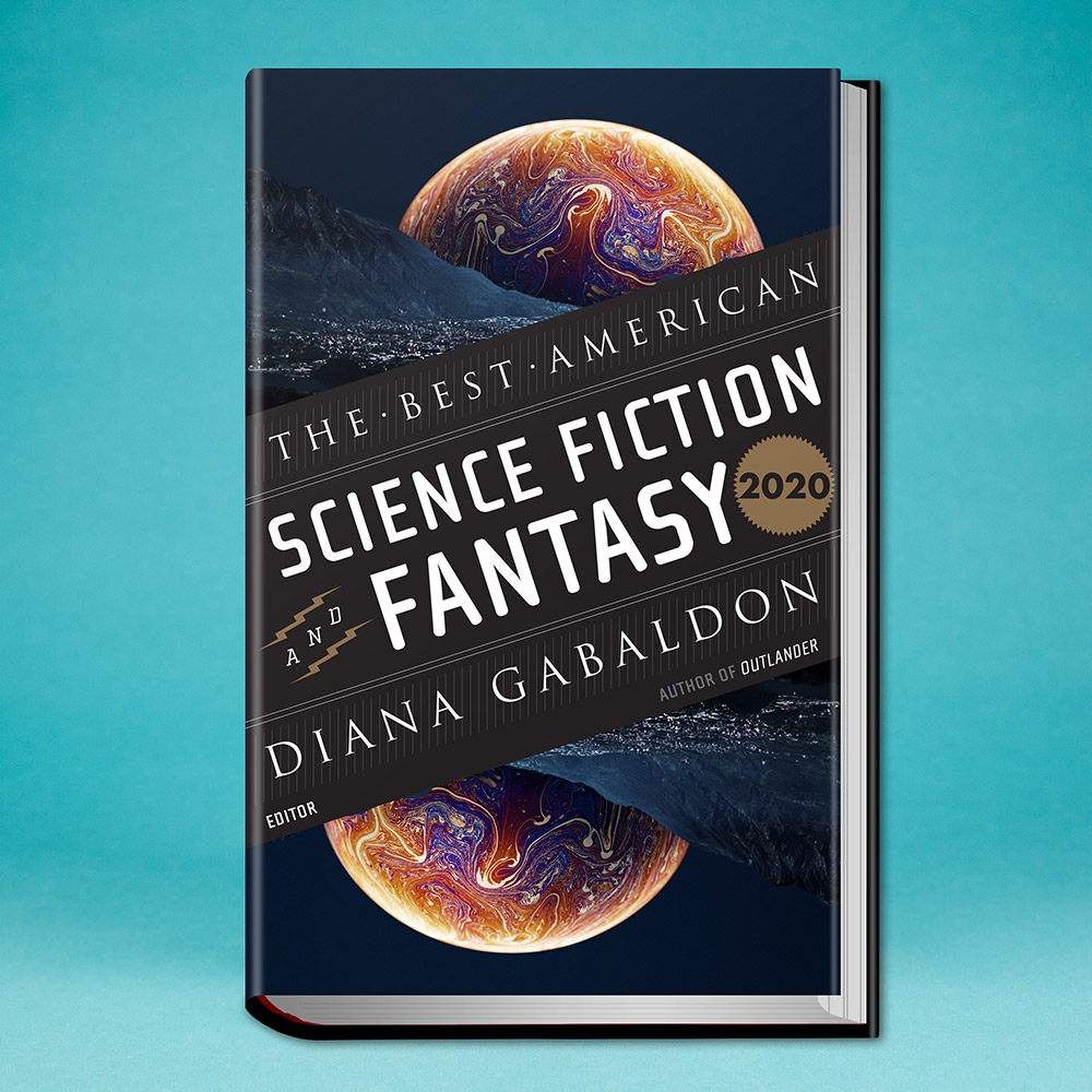 book, The Best American Science Fiction and Fantasy 2020