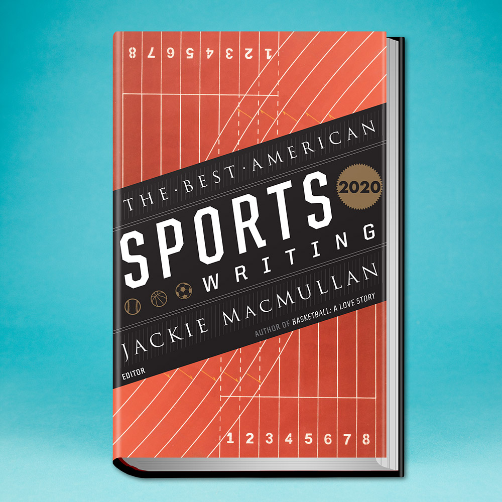 book, The Best American Sports Writing 2020