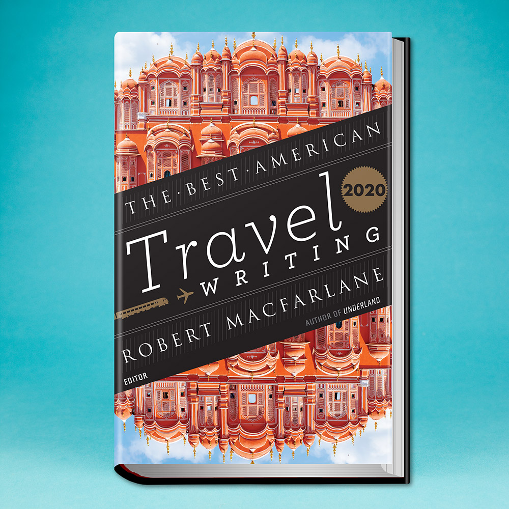 book, The Best American Travel Writing 2020