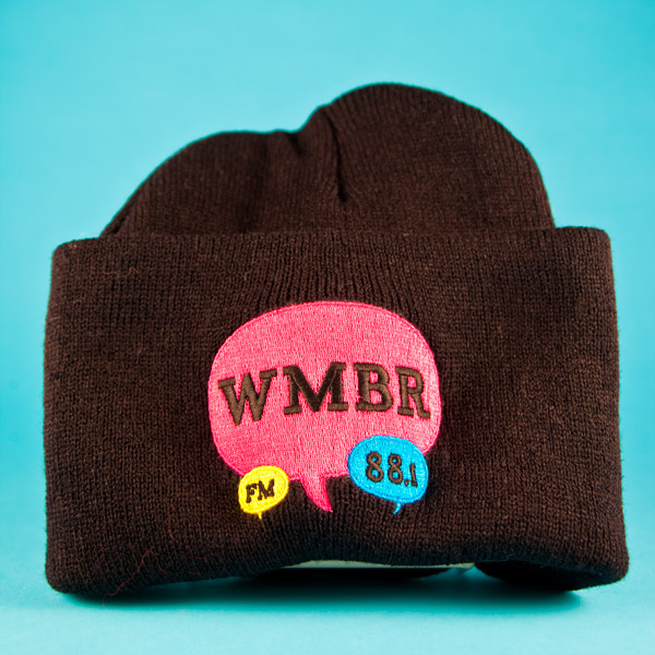 WMBR radio wool hat